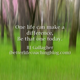 One-life-can-make-a