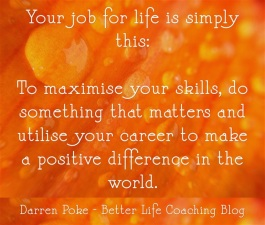 Your-job-for-life-is