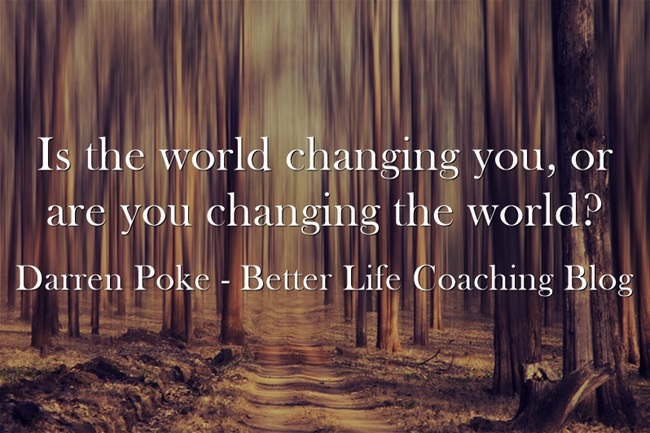 the changing world for the better Don't only strive to be the change you want to see in the world, but also help all those around you see the world through commonalities of the heart so that they would want to change with you this is how humanity will evolve to become better this is how you can change the world the language of the heart is mankind's.