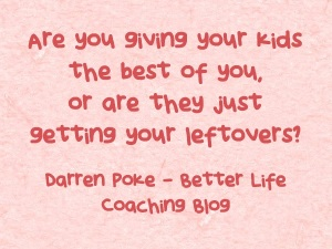 Don't Give Your Children Leftovers