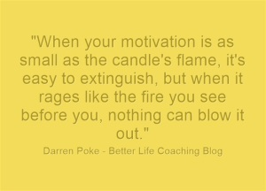 The Candle and the Fire – A Story About Staying Motivated