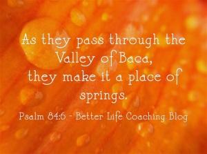 Psalm 84v6